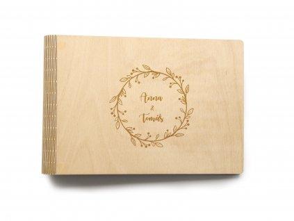 Drevene svatebni album