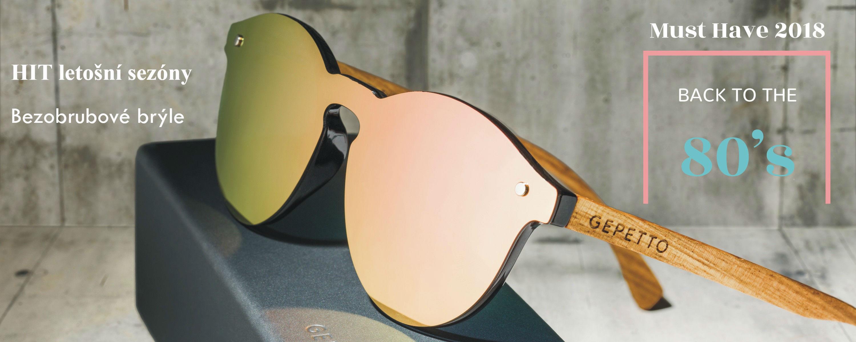 Dřevěné sluneční brýle - hit letošního léta