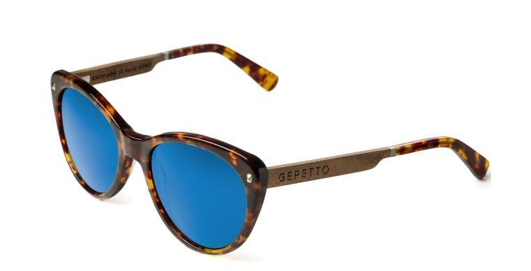 Brýle s modrými sklíčky