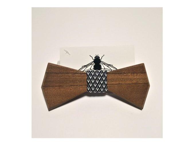Dřevěný motýlek Malaga Diamond