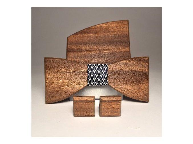 drewniany komplet navy velours (6)