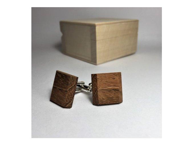 Dřevěné knoflíčky