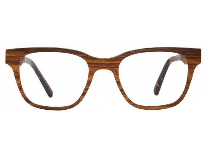 Emily dřevěné dioptrické brýle