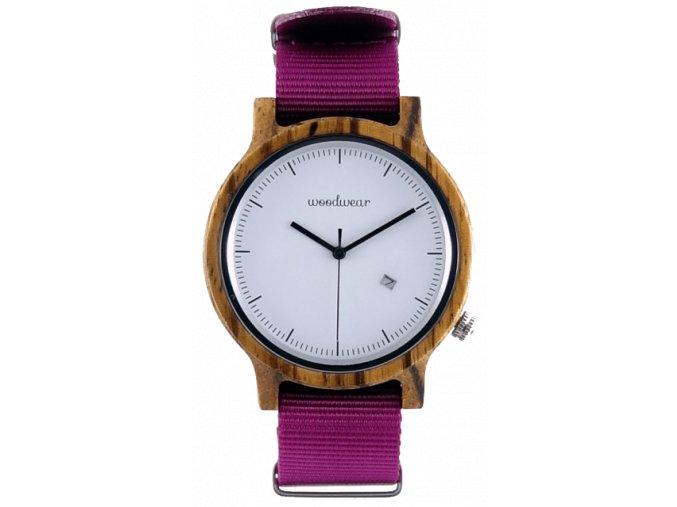 Pánské růžové hodinky