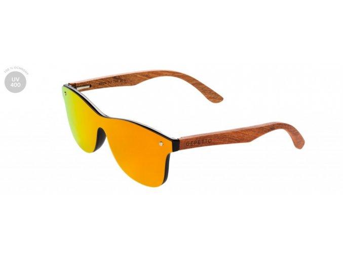Stylové dřevěné brýle