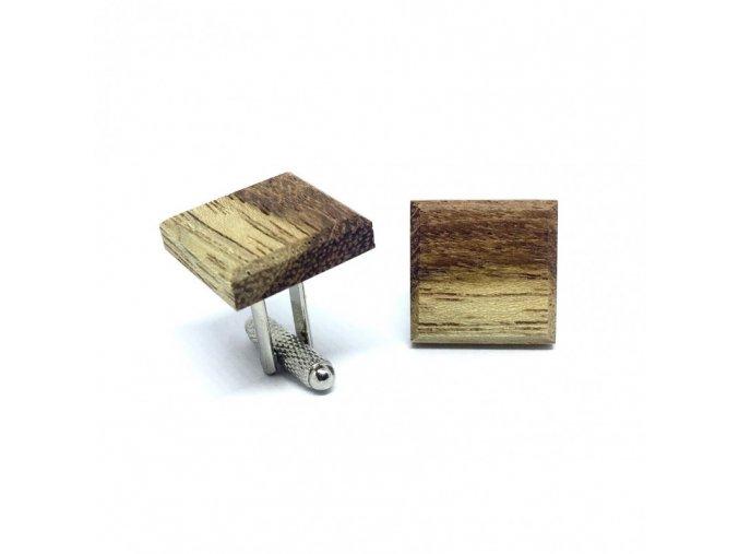drewniane spinki do mankietow