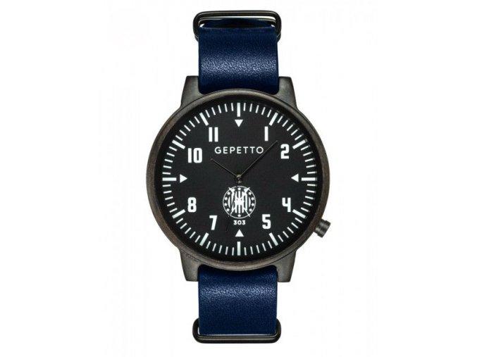 Nové dřevěné hodinky