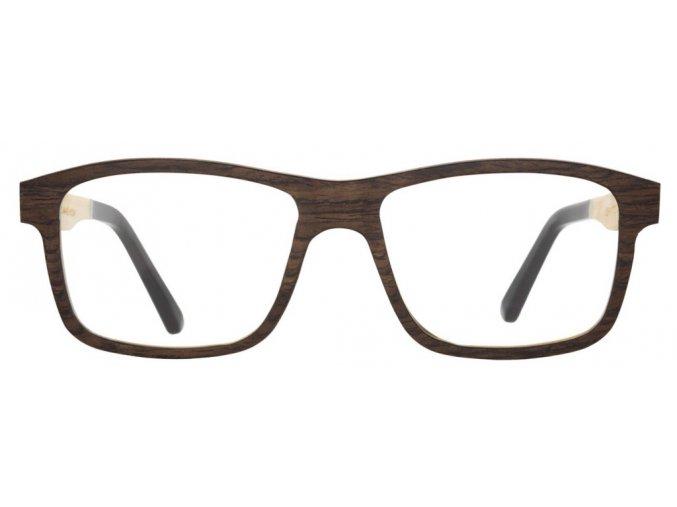 Dřevěné brýle Enzo