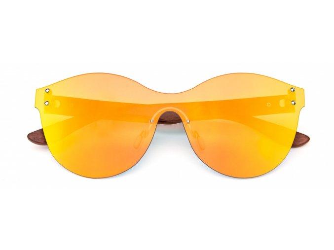 Dřevěné sluneční brýle Blondie