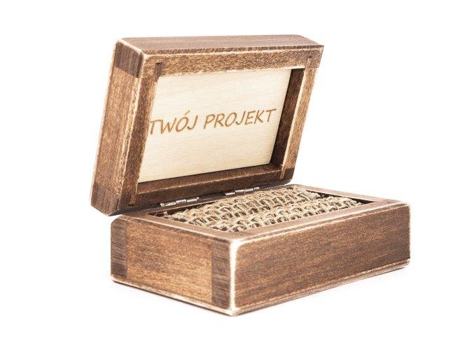 Pudełko drewniane P10
