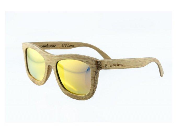 Sluneční brýle se žlutými sklíčky