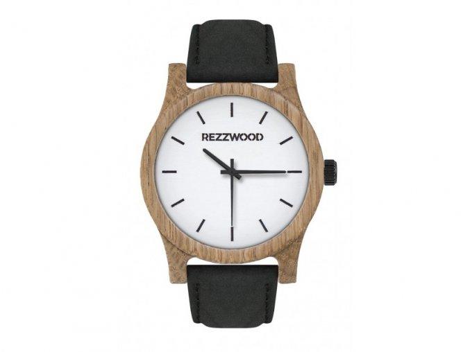 Dřevěné hodinky jilm