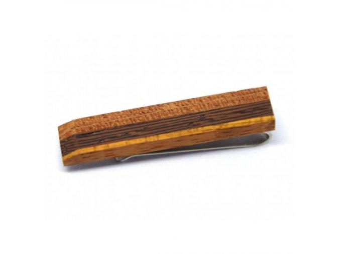 drewniana spinka do krawatass