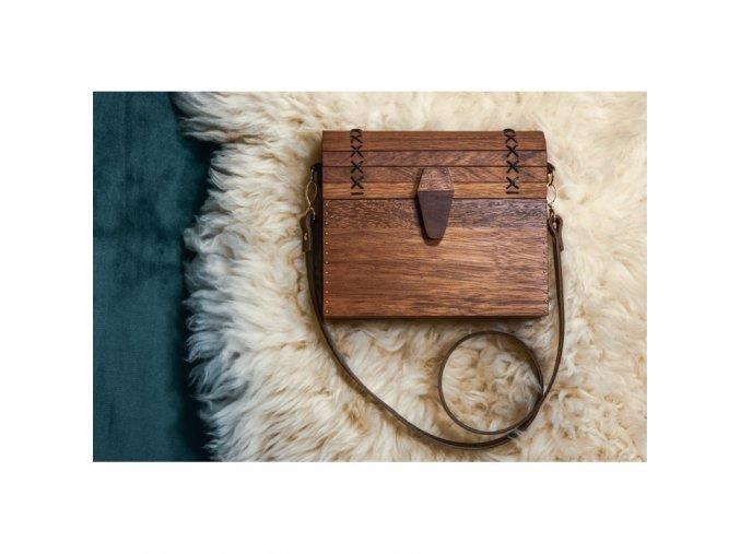 Dřevěná kabelka mitchell