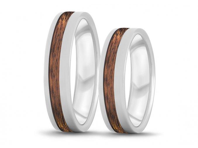 Mahagonové prstýnky