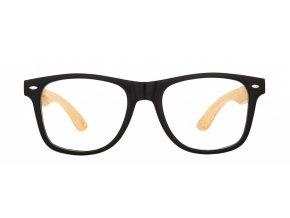 Dřevěné brýle k PC