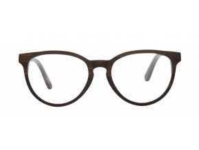 Dřevěné brýle bez dioptrií