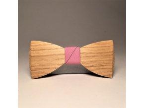 drewniana muszka