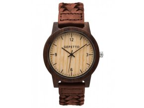 Dřevěné hodinky Midnight
