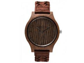 Dřevěné hodinky morning