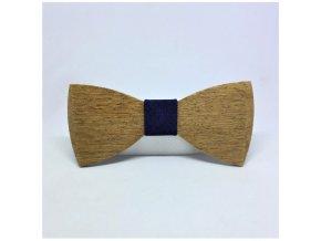 dřevěný motýlek navy oak