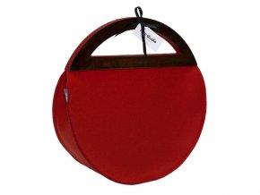 Červená kabelka