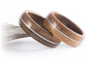 Tradiční dřevěné prstýnky