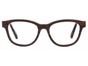 Dřevěné brýle Amy