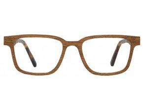 Dřevěné brýle Chloe