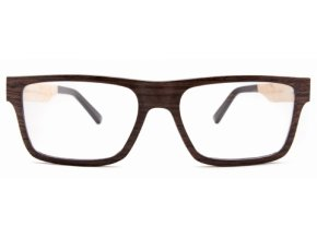 Brýle ze dřeva