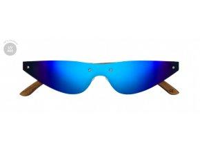 Modré sluneční brýle