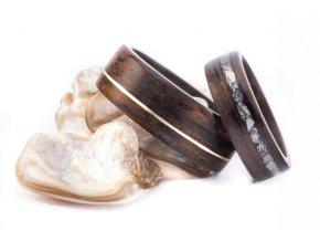 Dřevěné prstýnky For Them