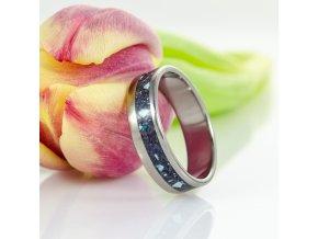 Zásnubní prstýnek s avanturínem