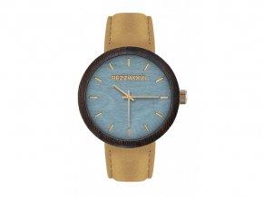 drewniany zegarek new age wenge klon