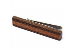Dřevěná spona ke kravatě