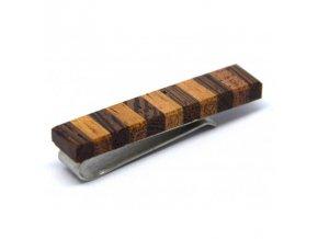 Dřevěná spona na kravatu