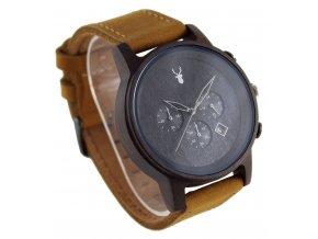 Dřevěné hodinky Carveman