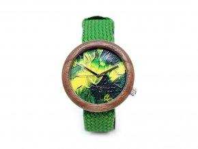 Zelené hodinky