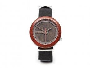 Dřevěné hodinky Hadar