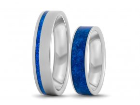Prsteny z azuritem