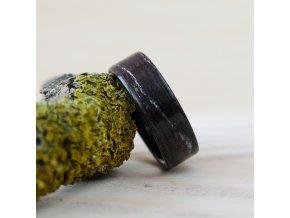 Dřevěný prstýnek BLACK OAK