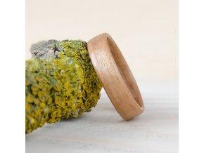 Dřevěný prstýnek CHERRY