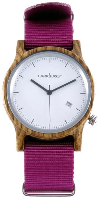 Woodwear Dámské hodinky dřevěné SPECTRO - Pink WW48