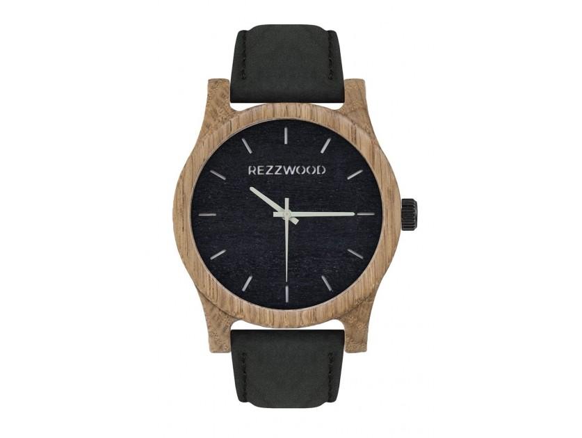 Rezzwood Dřevěné hodinky Classic Oak/Liliovník