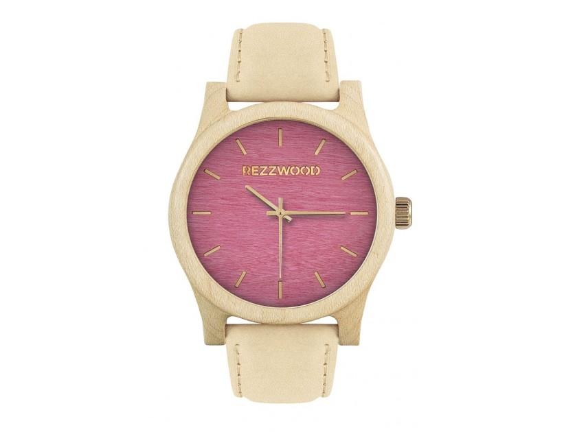 Rezzwood Dřevěné hodinky Classic Maple/Platan