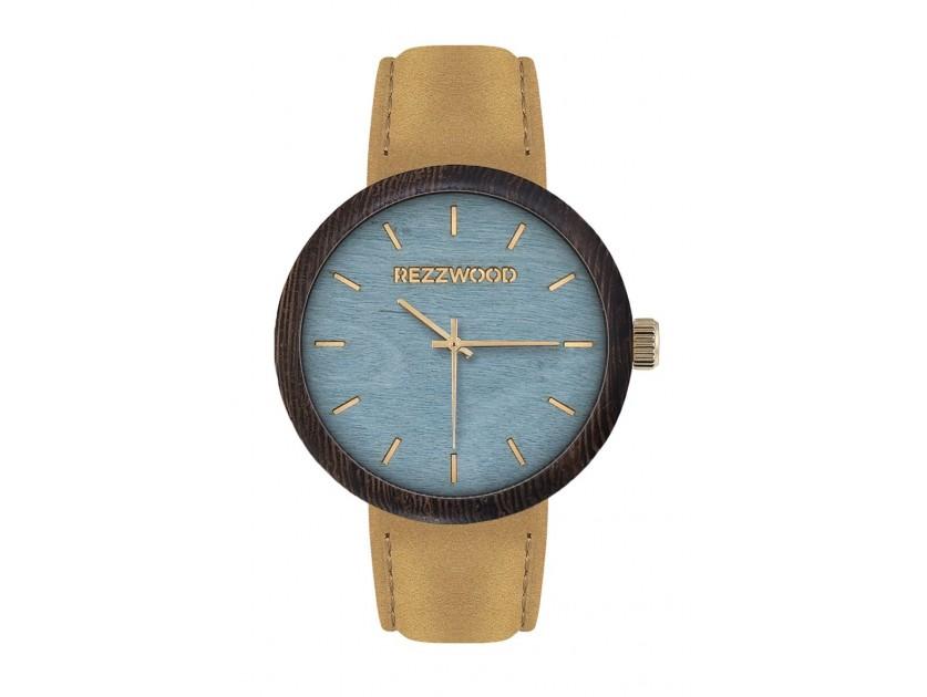 Rezzwood Dřevěné hodinky New Age Wenge/javor