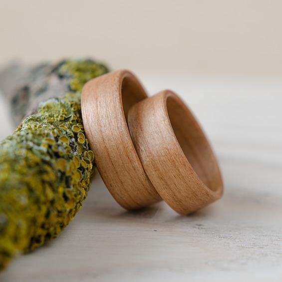Nordwood Rings Snubní prstýnky CHERRY NATURAL NWR270638 Gravírování: ANO