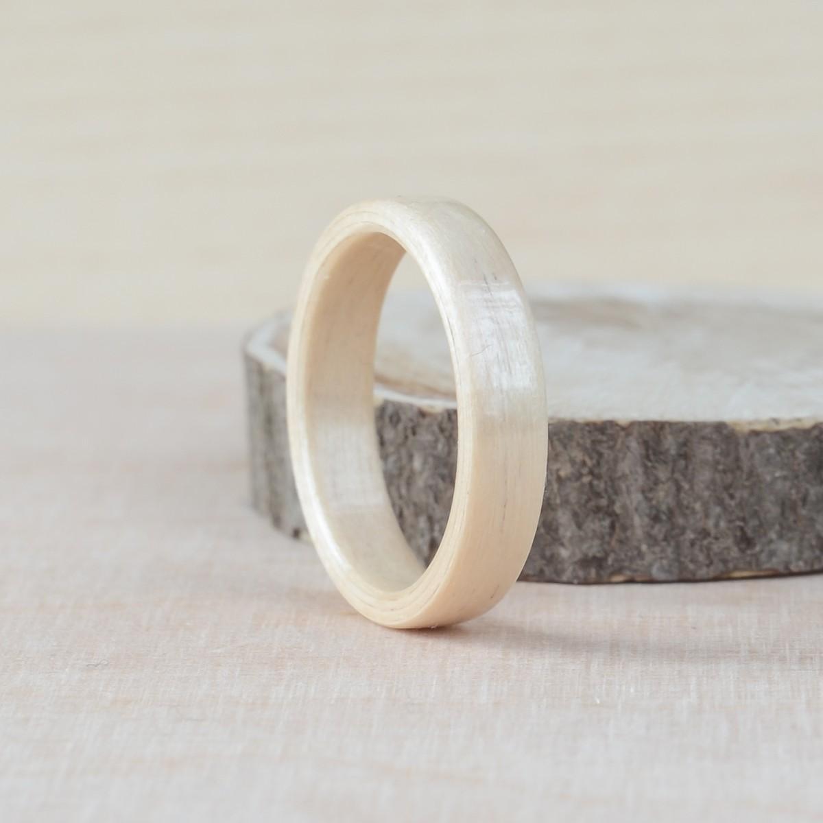 Nordwood Rings Dřevěný prstýnek BIRCH NWR270655