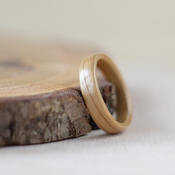 Nordwood Rings Dřevěný prstýnek OAK NATURAL NWR270656
