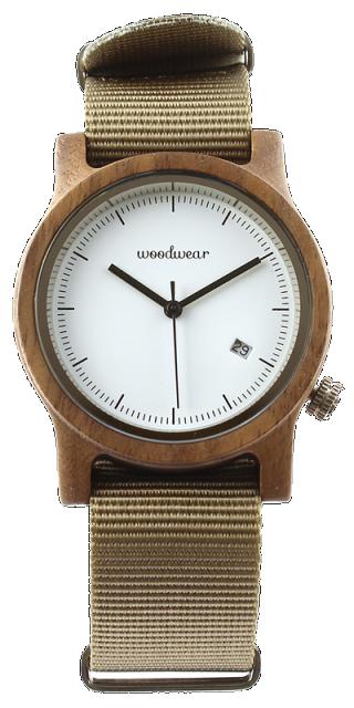 Woodwear Dámské hodinky dřevěné SPECTRO - Beige WW41